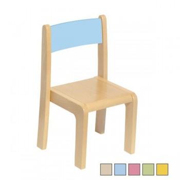 Krzesełko drewniane - 21 cm