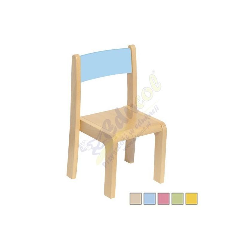 Krzesełko drewniane - 26 cm