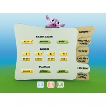 Logopedyczne Zabawy. Część IV - J, L, R
