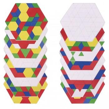 Paleta do zestawu Figur Geometrycznych +  18 kart