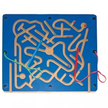Magnetyczny labirynt z kuleczkami - dla dwojga