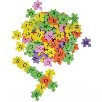 Piankowe puzzle literki - 2000 szt.