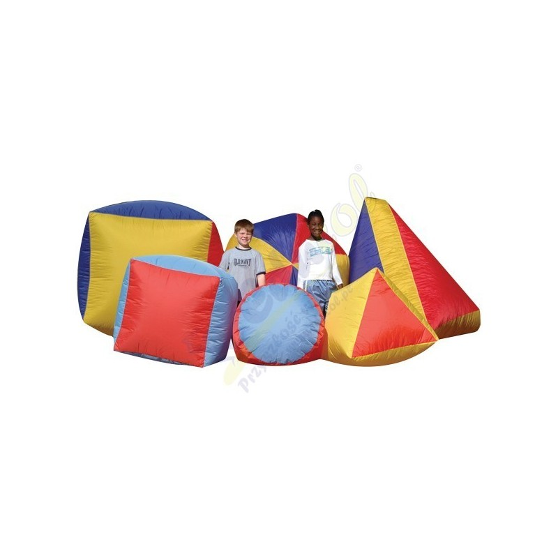 Mega piłki i kształty - Kostka