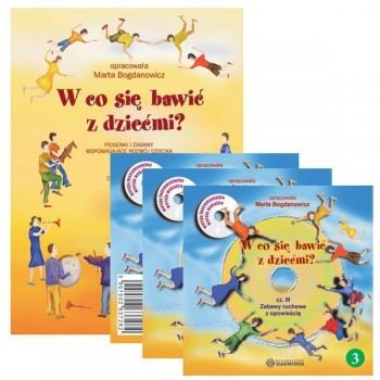 W co się bawić z dziećmi? - książeczka + 3CD