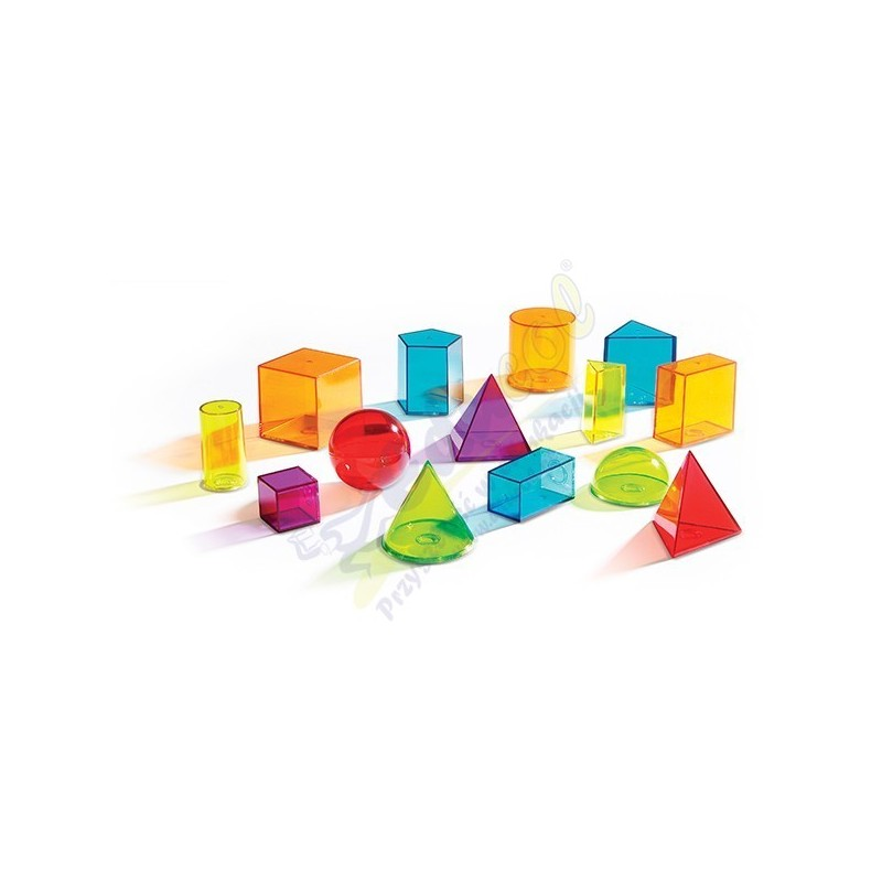 Kolorowe bryły 3D