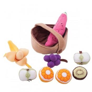 Miękki kosz z owocami
