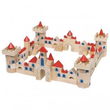 Zamek - 4 bramy - 145 elem.
