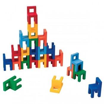 Krzesełka drewniane - gra