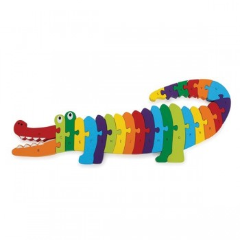 "Puzzle ""Krokodyl ABC"""