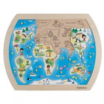 """Puzzle - """"Świat"""""""