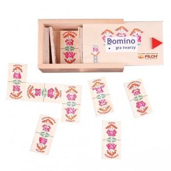 """Domino """"Gra Twarzy"""""""