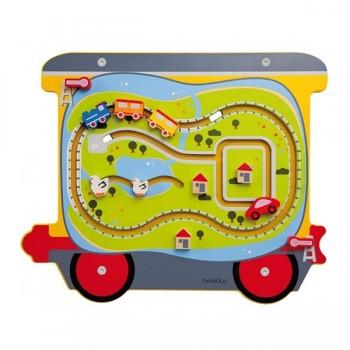Pociag manipulacyjny Lokomotywa z wagonikami - lokomotywa