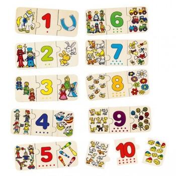 Puzzle - ilości 1 - 10