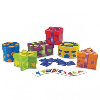 Pudełka kształtów i kolorów