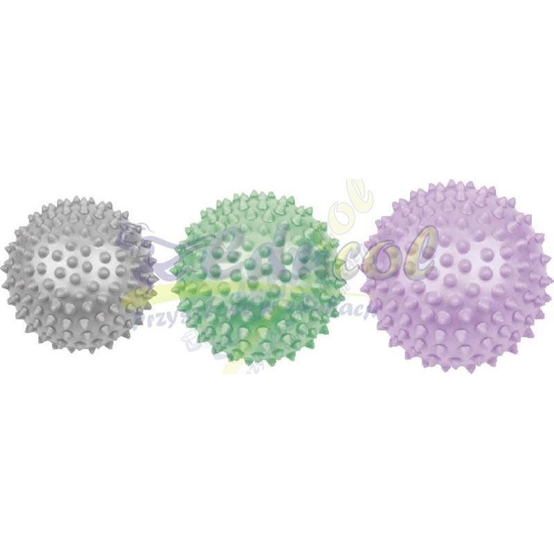 Piłki relaksacyjne jeżyki Ø 9 cm