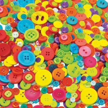 Kolorowe guziczki - 500 g