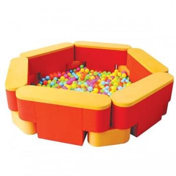 Wielofunkcyjny basen sześciokąt - skrzynia