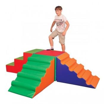 Zestaw - wieża schodów - 5...