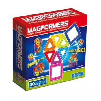 Magformers 30 elem. - klocki magnetyczne