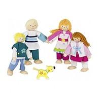 Figurki do domków dla lalek